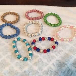 Jewelry - Slip on bracelets